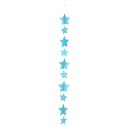 Blue Stars Balloon Tail